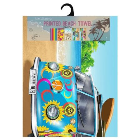 Velour Beach Towel (Peppa Pig