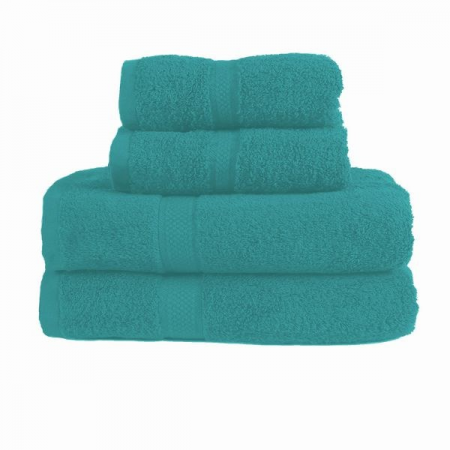 480GSM COMBED HAND TOWEL (TEAL)