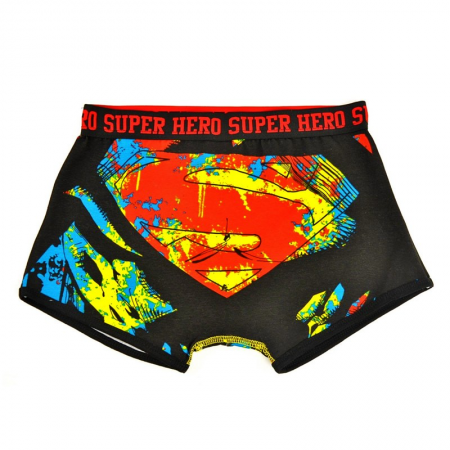 MENS BOXERSHORTS, (SUPERMAN, ASSORTED SIZE)