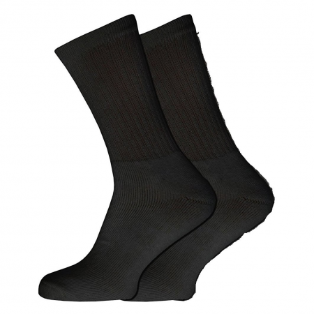 3 PACK BLACK SPORTS SOCKS