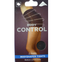 2 PAIRS BODY CONTROL TIGHTS