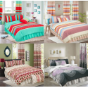 DOUBLE PRINTED DUVET SET ASSORTED