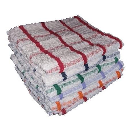 JUMBO CHECK TEA TOWELS
