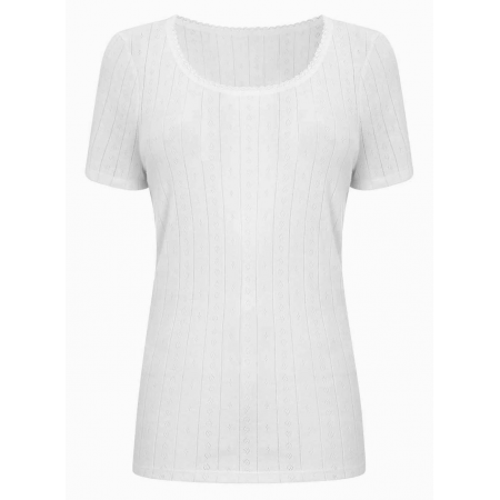 LADIES  THERMAL VEST (WHITE)