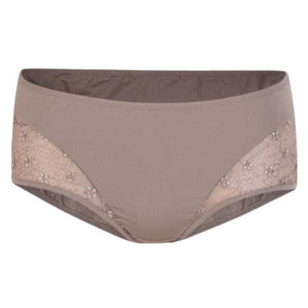 AMBRACE HIPSTER BRIEFS WITH LACE (MAUVE)