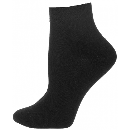 3PK TRAINER SOCKS (BLACK)