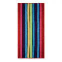 VELOUR STRIPED BEACH TOWEL 75X150CM (DESIGN 21)