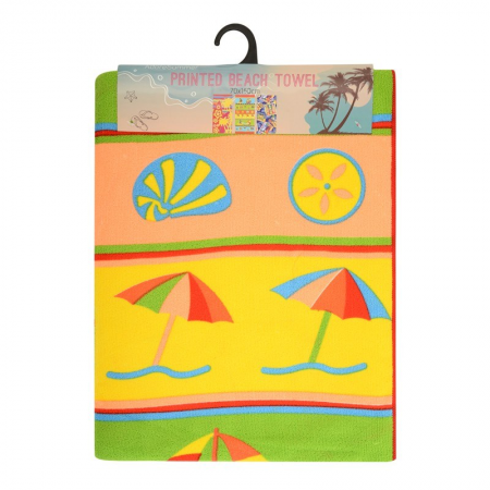 MICROFIBRE BEACH TOWELS 75X140CM (SAIL BOATS)