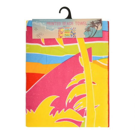 MICROFIBRE BEACH TOWELS 70X140CM (SURF BOARDS)