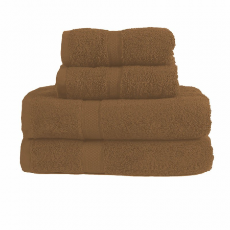 480GSM COMBED HAND TOWEL (LATTE)