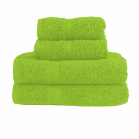 480GSM COMBED HAND TOWEL (LIME GREEN)