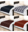 POLAR FLEECE BLANKET 120X150CM CHECK - 5 COLOURS