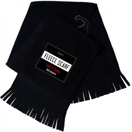 FLEECE SCARF (BLACK)