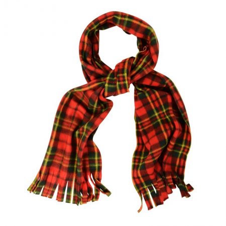 TARTAN CHECK SCARF (RED)