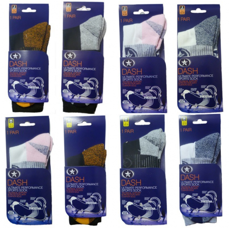 1PK DASH SOCKS ASSORTED
