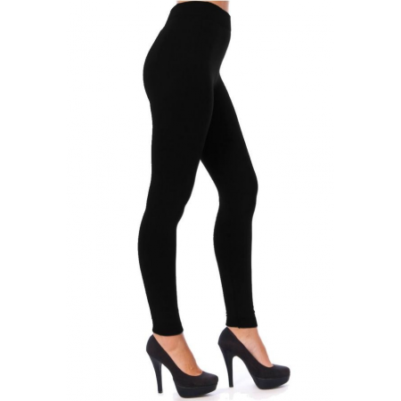 LADIES THERMAL LEGGINGS BLACK