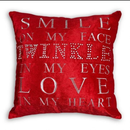 CUSHION COVER TWINKLE 17 X 17""