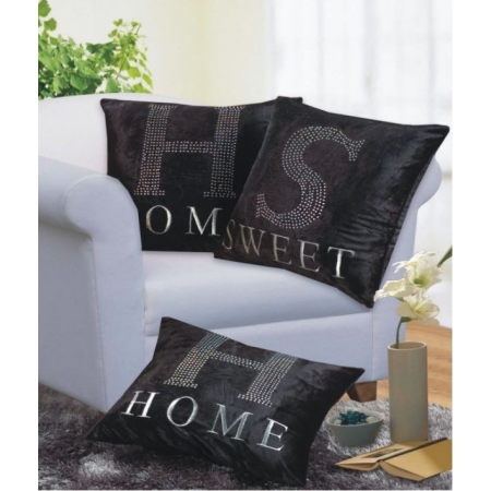 3PK CUSHION COVER HSH 17 X 17""