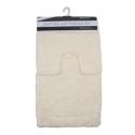 2PC ANTI SLIP BATH MAT - ASSORTED OR 10 BLOCK COLOURS