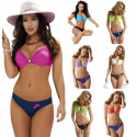 LADIES HALTER NECK BIKINI ASST SIZE / COLOUR