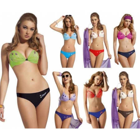 DUO DEEP PLUNGE BIKINI ASSORTED SIZE / COLOUR (2012)
