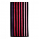 VELOUR STRIPED BEACH TOWEL 75X150CM (DESIGN 29)
