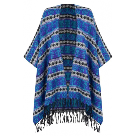 LADIES SHAWL WITH TASSELS