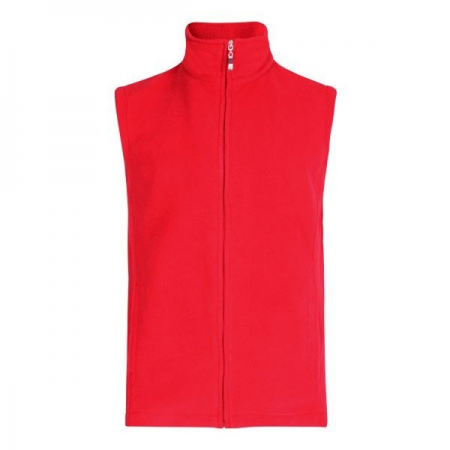 MICRO FLEECE BODYWARMER (RED)