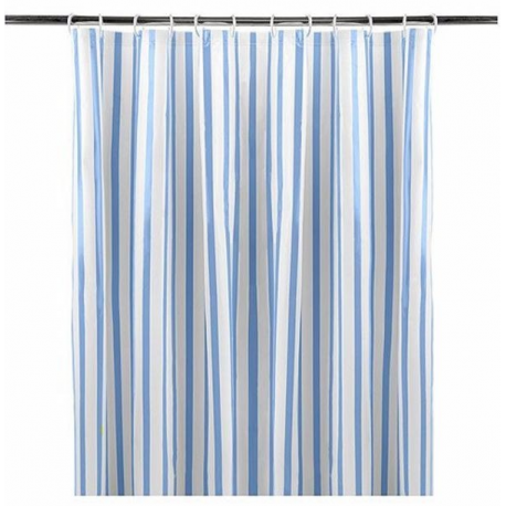 SHOWER CURTAINS STRIPED