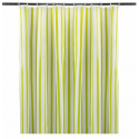 SHOWER CURTAINS, STRIPED